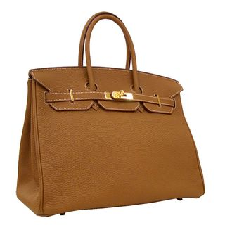 Hermes Tan Gold Birkin 35
