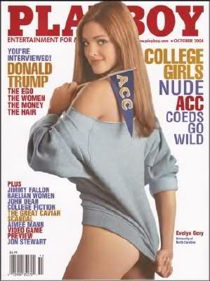 Playboy oct 2004