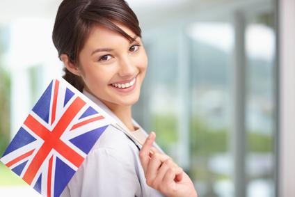 Girlw:Brit Flag© Yuri Arcurs - Fotolia.com