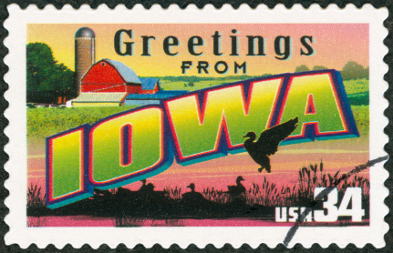 Iowa_stamp_©tomograf_iStockphoto