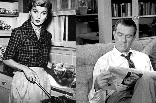 June Cleaver & Ward Cleaver_Leave it to Beaver by ABC Television