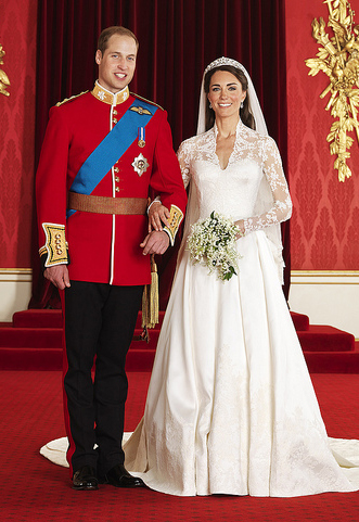Kate and William - Courtesy of the British Monarchy