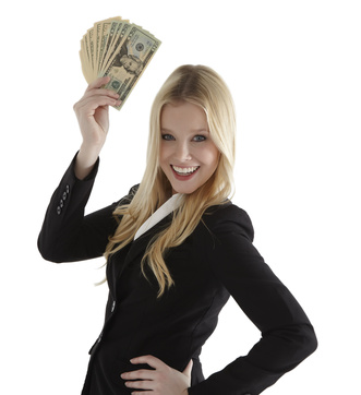 Girl with Money © Sehenswerk - Fotolia.com(1)