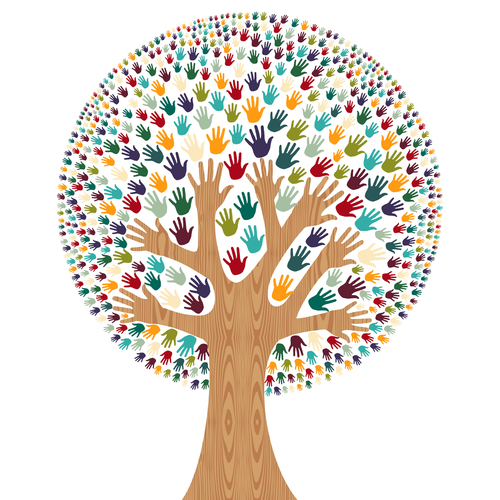 Diversity Tree - Cienpies Design via Shutterstock