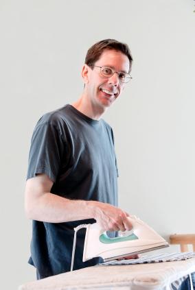 Man-Ironing-by akit via iStock